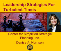Leadership Strategies for Turbulent Times